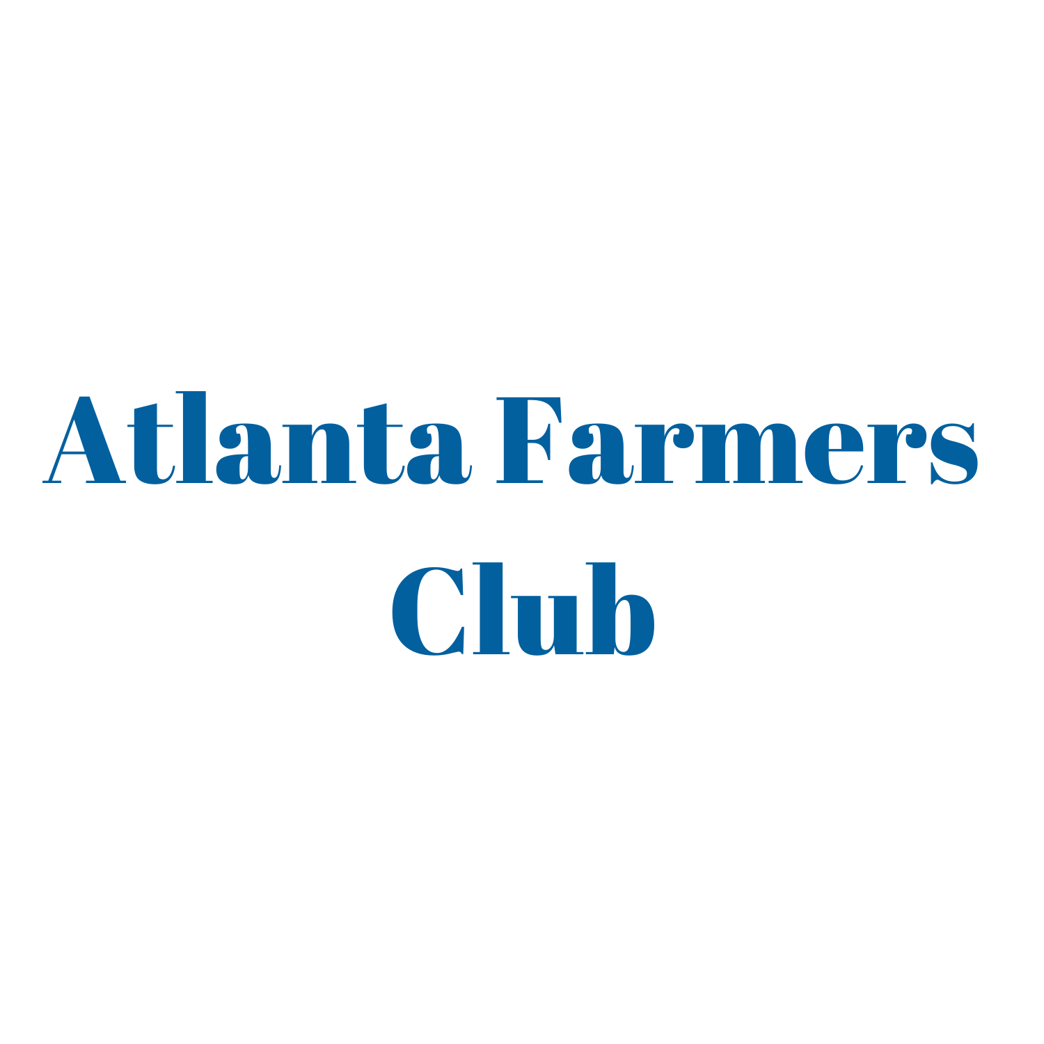 Atlanta Farmers Club