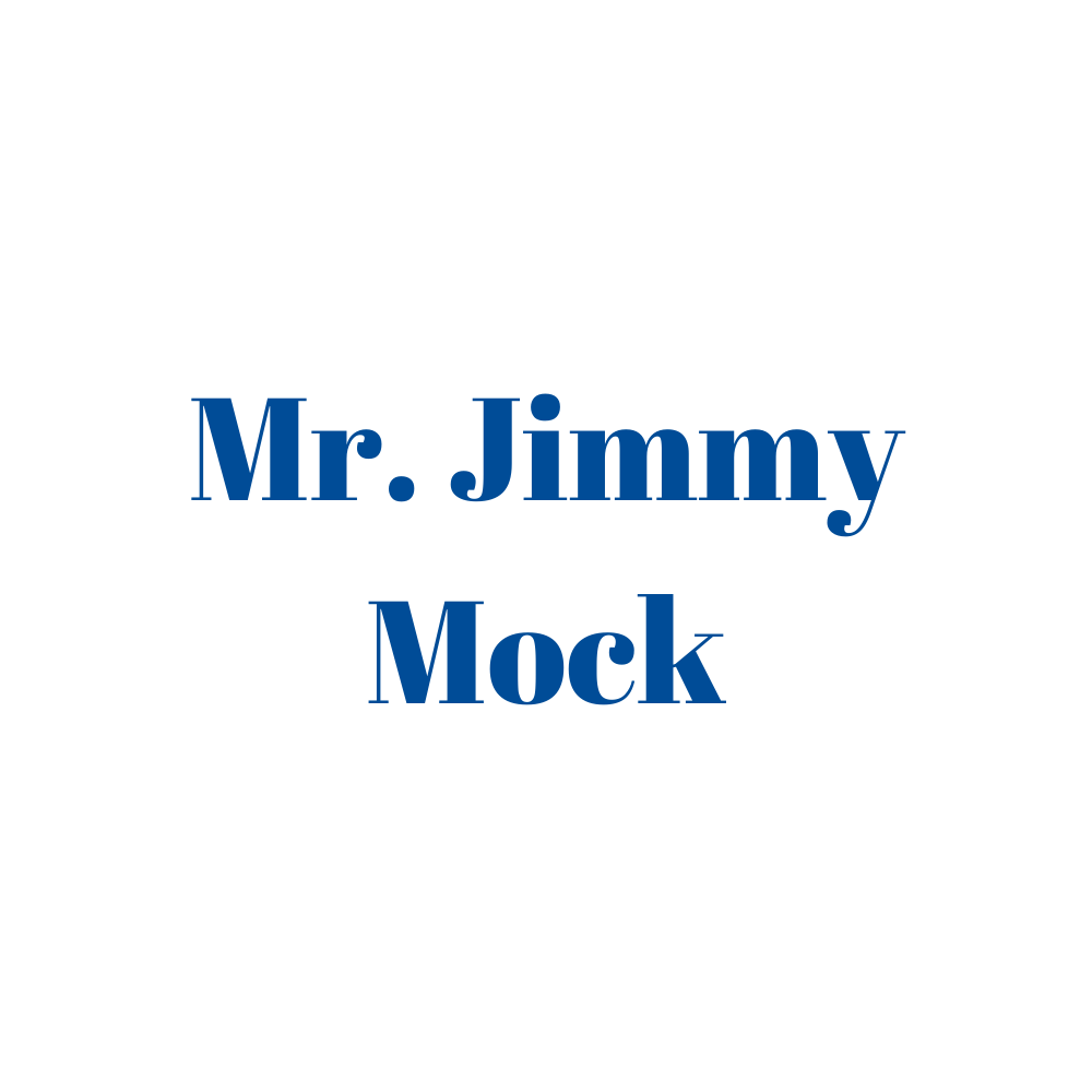 Mr. Jimmy Mock