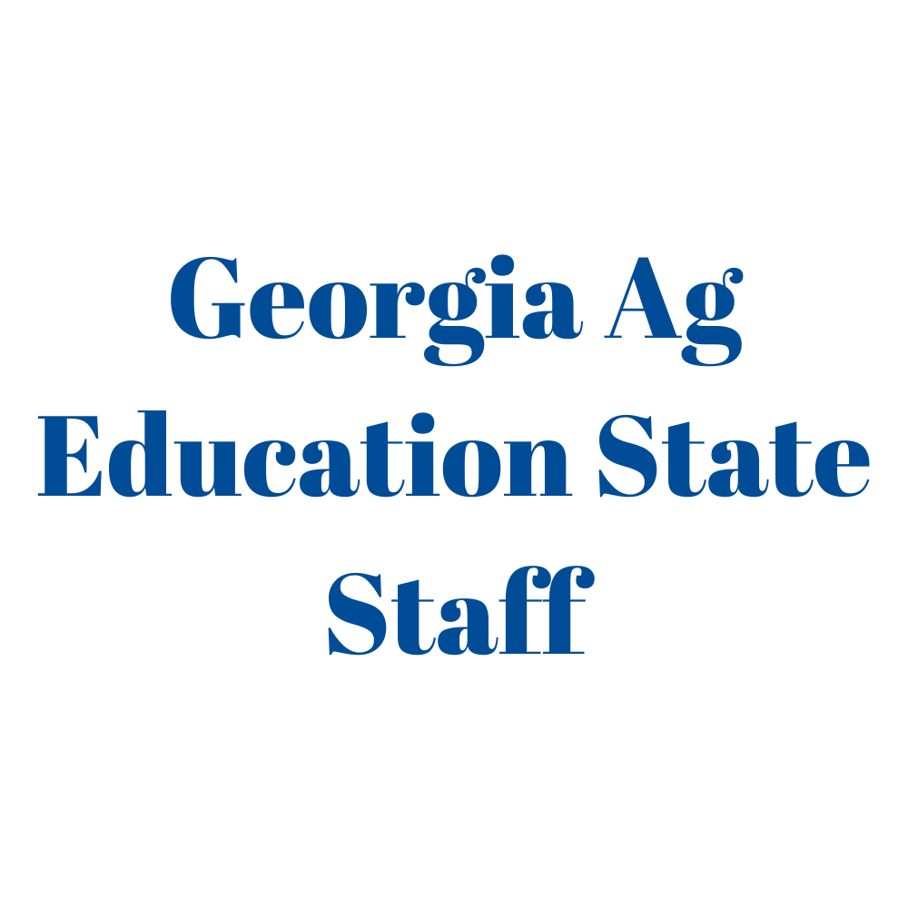 The Georgia Ag Education State Staff